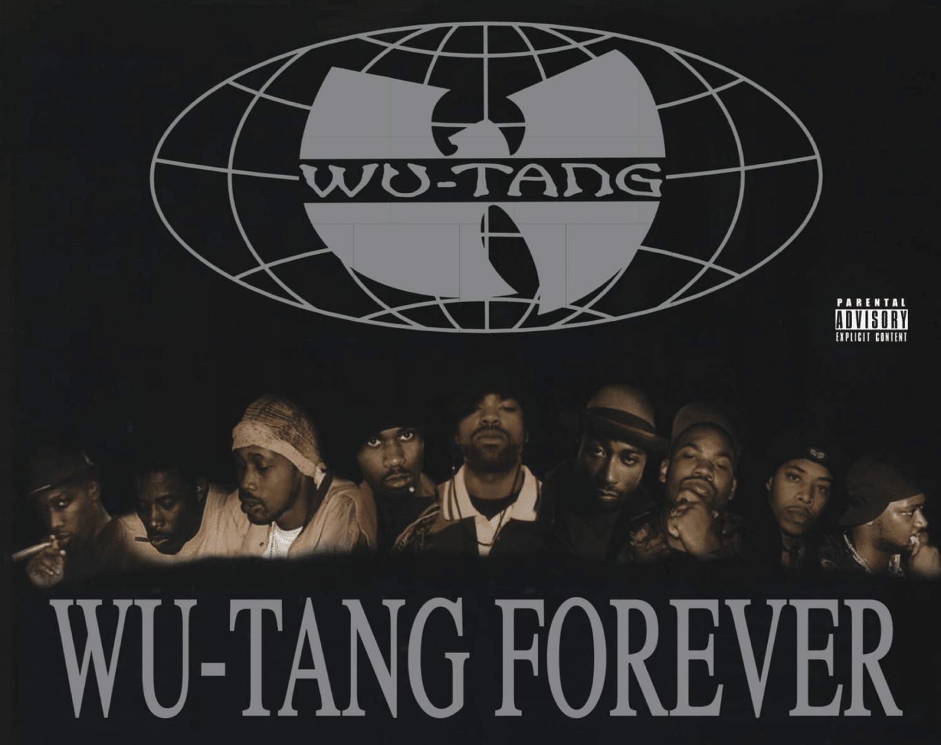 Portada del álbum de Wu-tang clan llamado Wu-tang forever con el que Wu-Tang Clan creó una identidad y un legado para la posteridad.