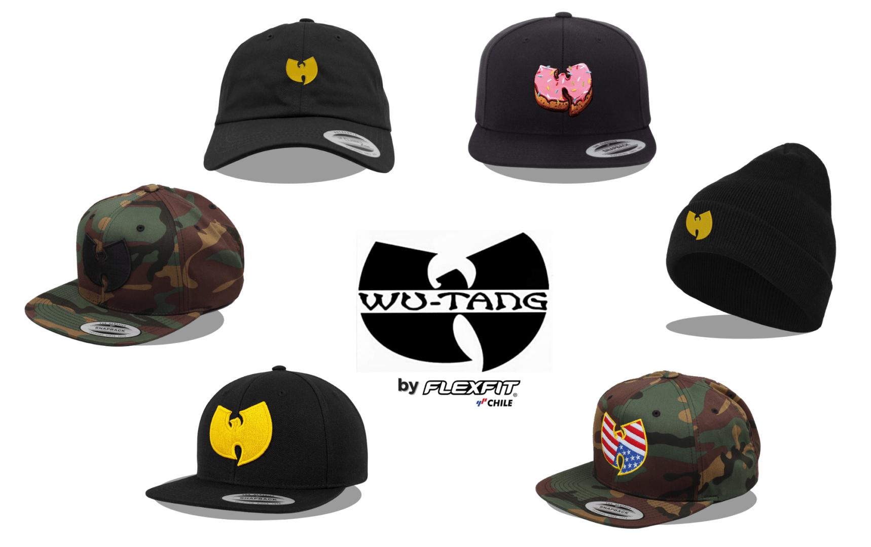 Colección Wu-Tang Clan Flexfit Chile