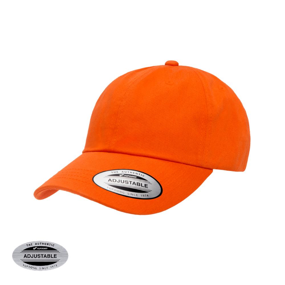 Dad cap 6245CM color naranja