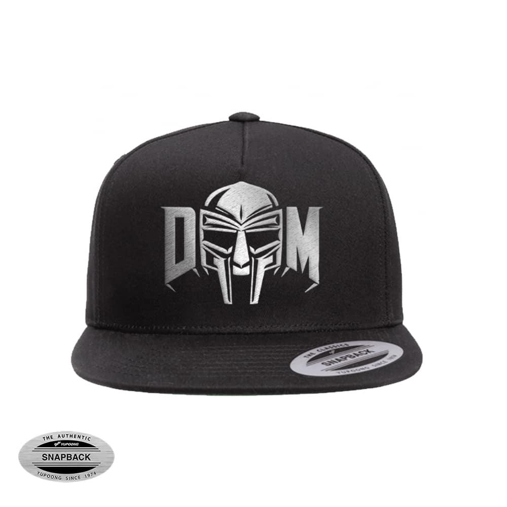 Metal Doom Snapback 6007 negro