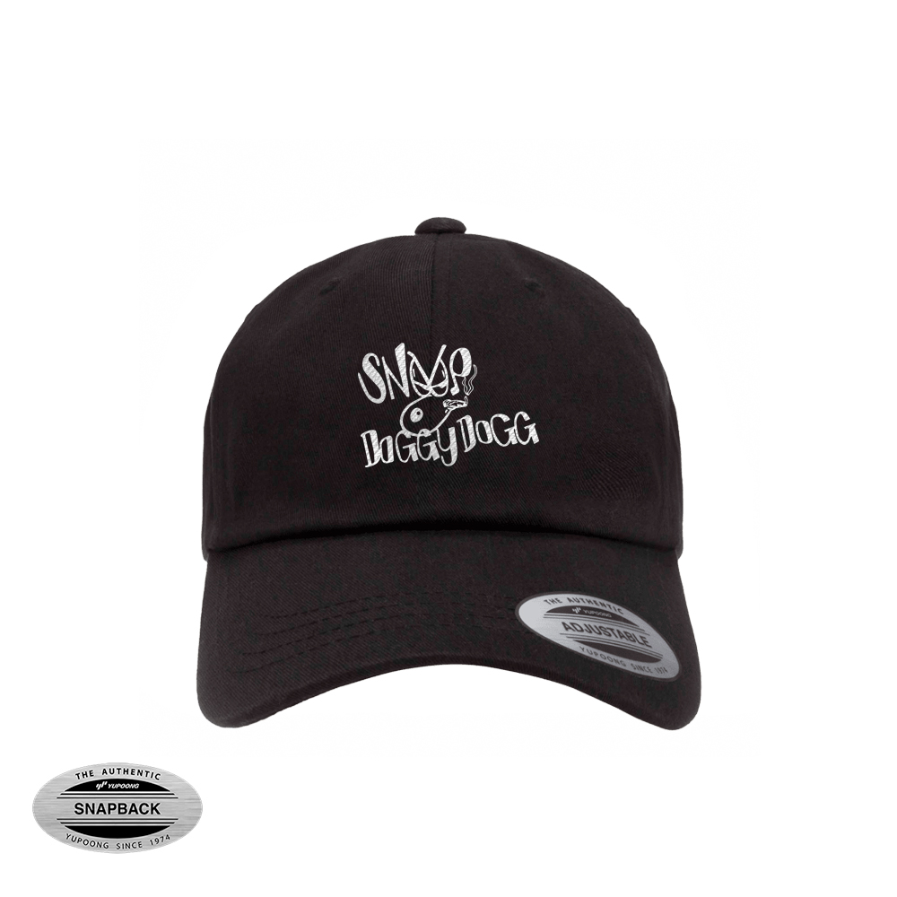 dad cap snoop dogg black